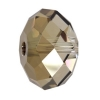 Briolette 6mm Bronze Shade Crystal